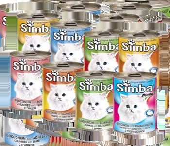 simba za mace konzerve